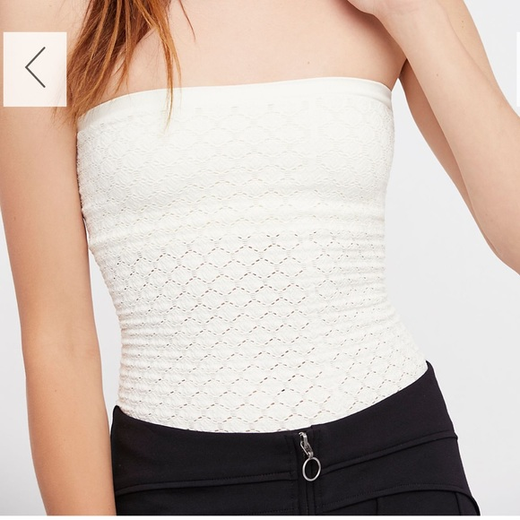 94ec1d6a551 Free People Tops - Free people honeycomb textured tube top